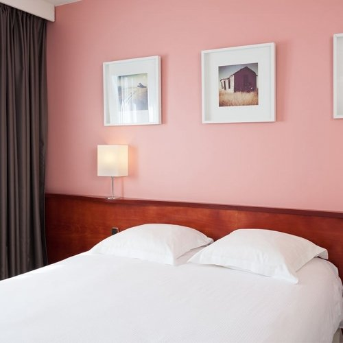 The  double rooms - hotel Le Welcome ***