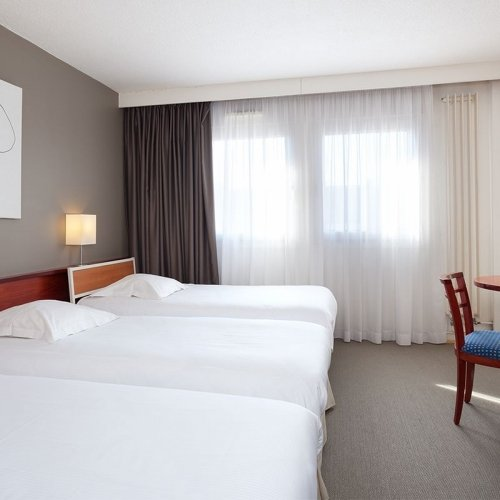 Les Chambres Triples de l'hôtel Le Welcome ***